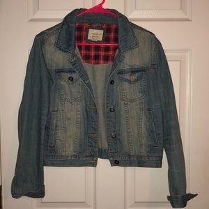 Forever 21 Denim Studded Jacket